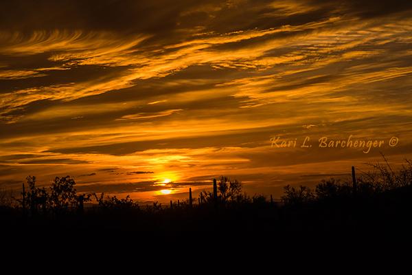 Sunsets - Arizona
