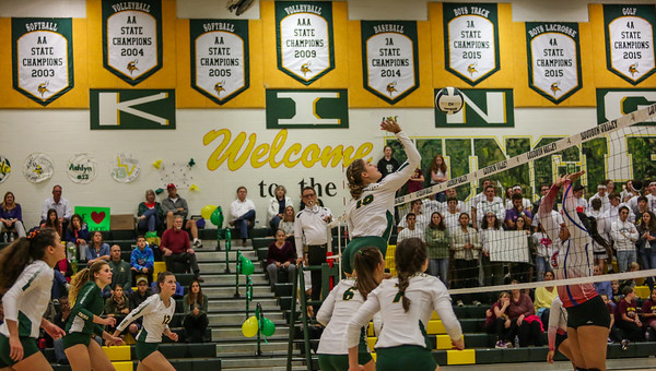 Volleyball: Loudoun Valley 3, Park View 0 by Rodney Scott on October 22, 2019