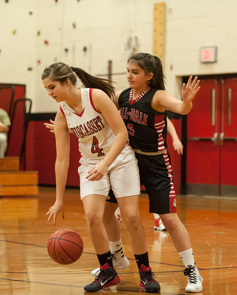 Hall-Dale Girls Varsity vs Wiscasset