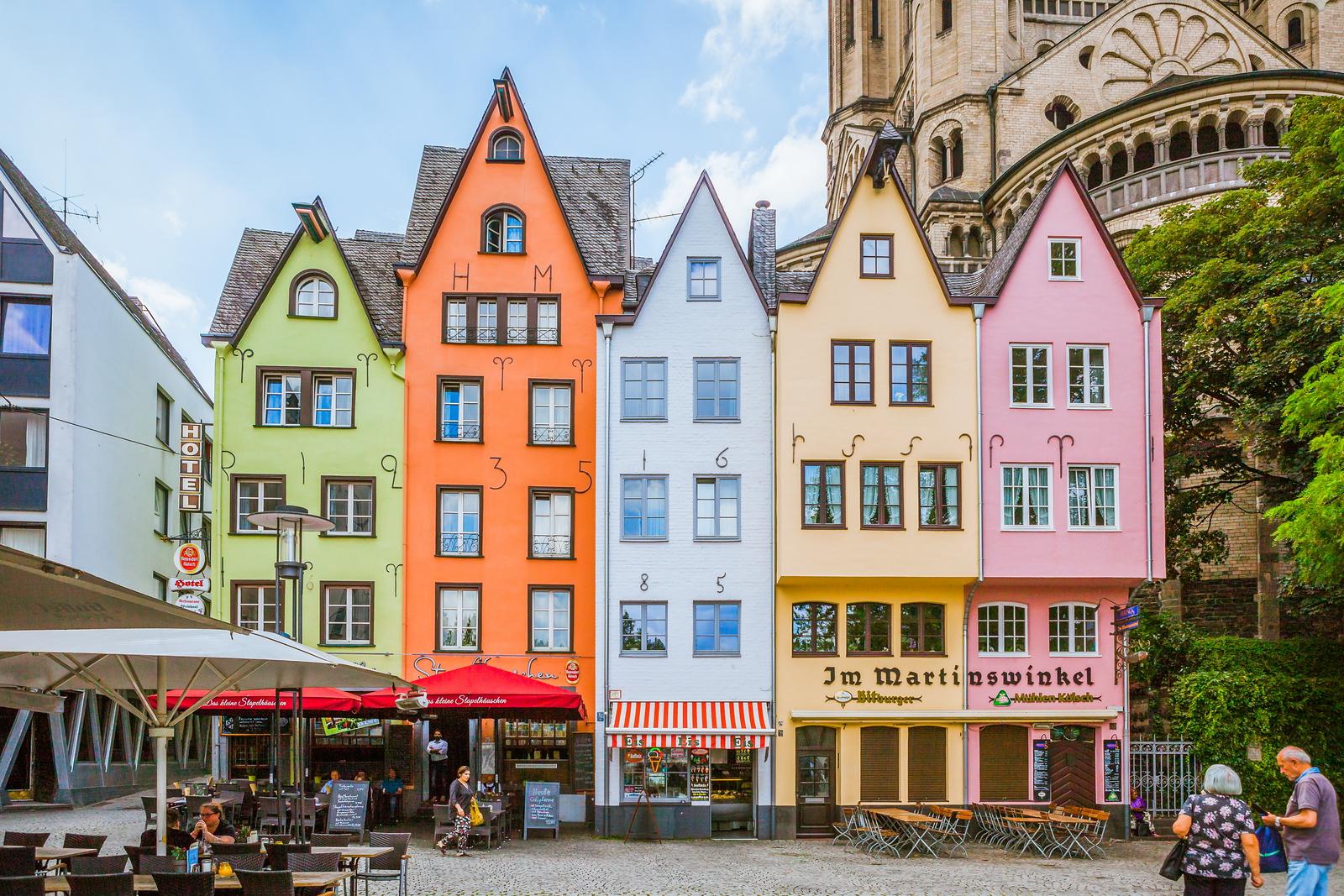 德国科隆,多彩的城市