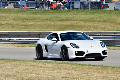 2020 SCCA July 29 Pitt Race Interm White Porsche Cayman