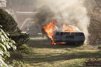 Car Fire - Cedar Circle, Townsend, MA - 12/26/2020