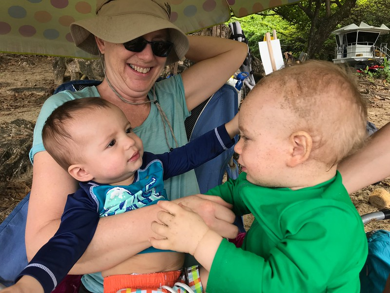 Grandma Mitzi, Asher, Leif