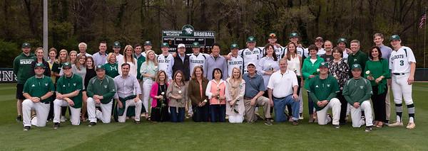 Baseball Seniors April 4, 2019