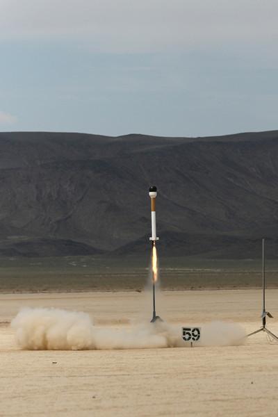 LDRS26_LasVegas_7-15-07 Sun Launch