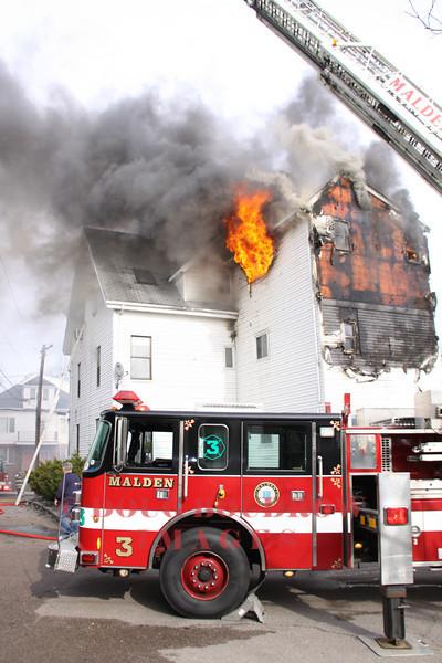 Malden, MA - 3rd Alarm, 58 Porter Street, 4-10-11