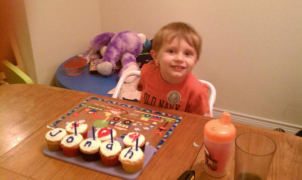 Jonah's 4th Birthday 2010 | Toy Story