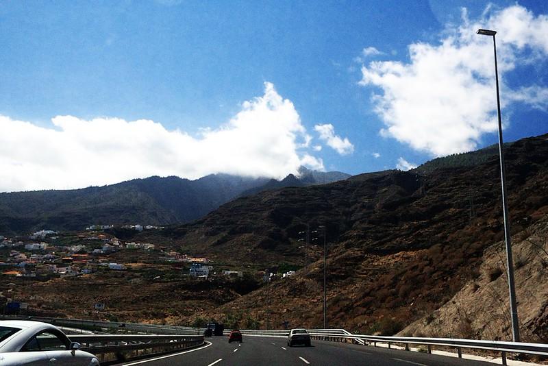 Jižní dálnice před Las Caletillas