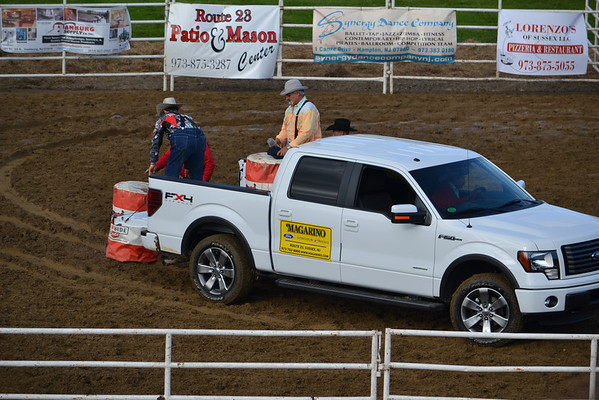1st Section Cowgirls Barrel Race