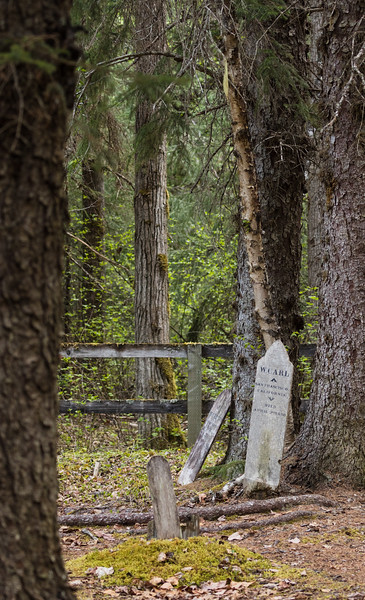 Gold Rush Cemetery Skagway, Alaska