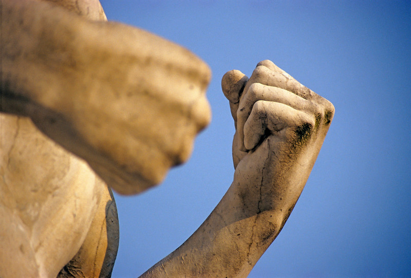Athlete Statue at Foro Italico, Rome