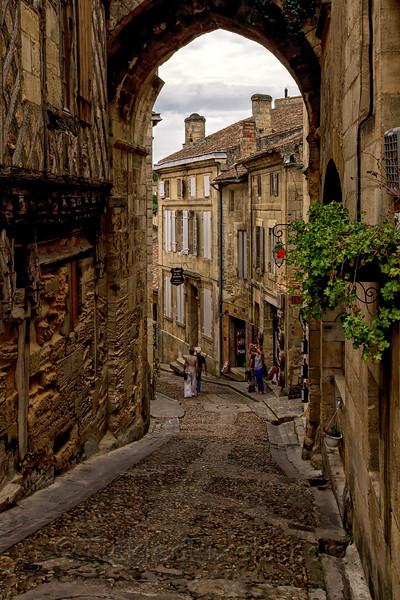 Steep Streets of Saint-Émilion
