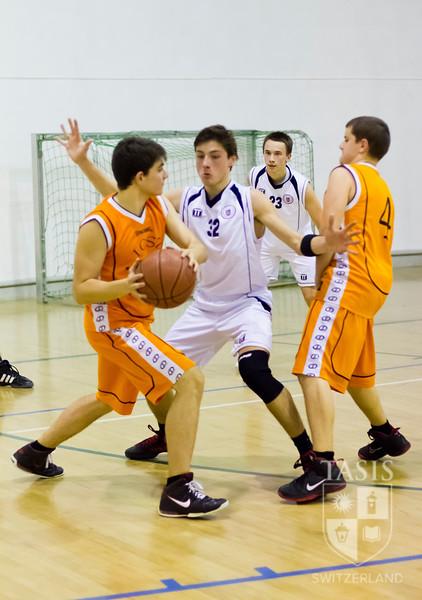 TASIS Boys Varsity Basketball Friendly (December 1, 2012)