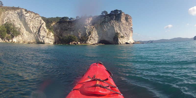 Heading to Cathedral Cove GP0059