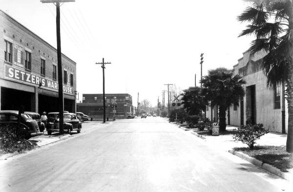 Setzers warehouse in 1943. Courtesy of State Archives of Florida, Florida Memory, http://floridamemory.com/items/show/52954