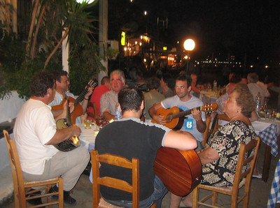 Music and dancing in Greece