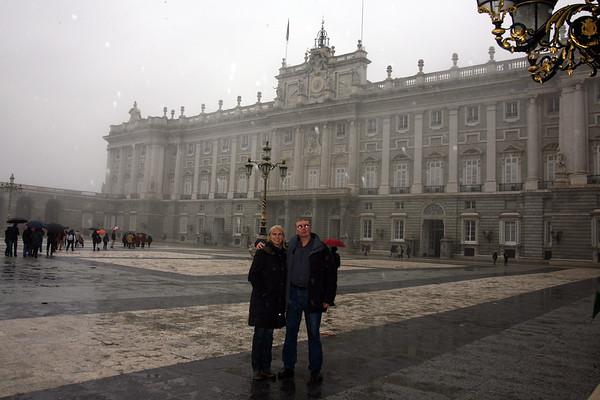 Royal Palace of Madrid - December, 2009