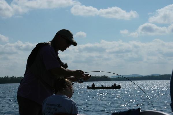 The Munson Family Fishing Big Lake, Maine ©Nature'sArt