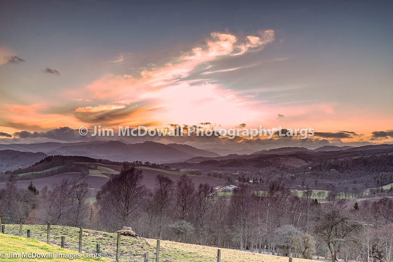 Stunning Scottish Hillside at Crieff