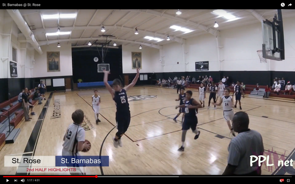 St. Barnabas @ St. Rose 2nd Half Highlights
