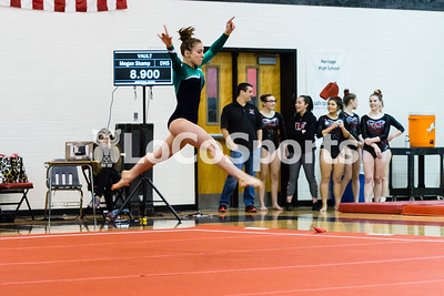 Gymnastics: Heritage Meet by Tim Gregory on January 9, 2018