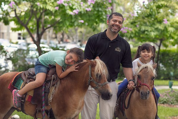 Pony Rides at Summer Camp