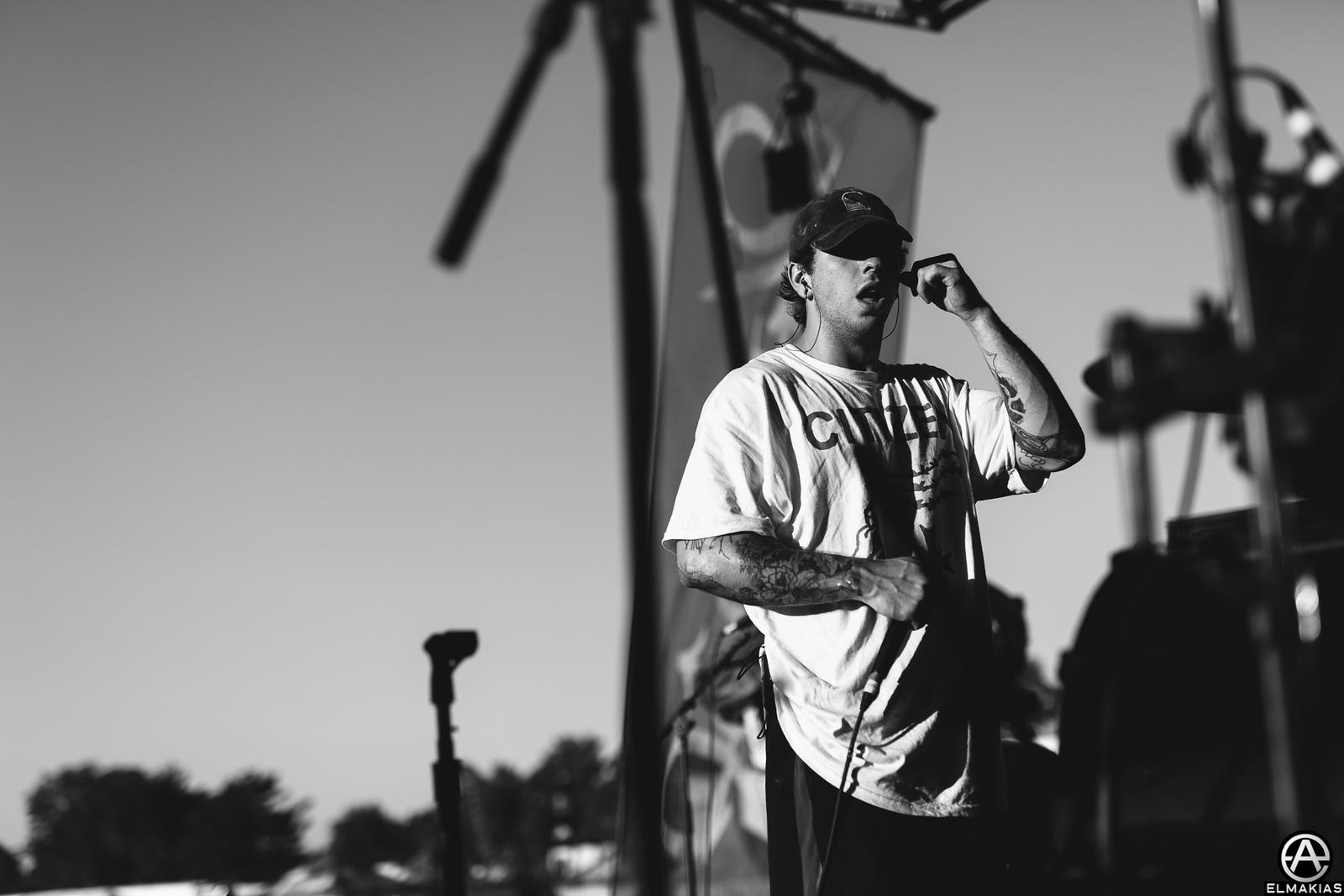 Mat Kerekes of Citizen live at Vans Warped Tour 2015 by Adam Elmakias