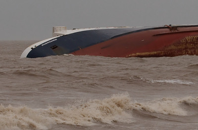 Riverdance wreck, Clevelys, 2008