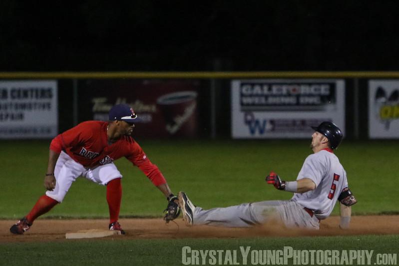 Hamilton Cardinals at Brantford Red Sox July 29, 2017