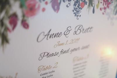 Bret & Anne's Wedding  Reception
