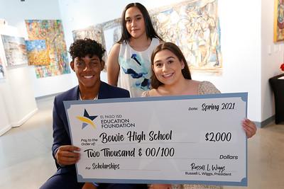 El Paso ISD Education Foundation Scholarship Recipients