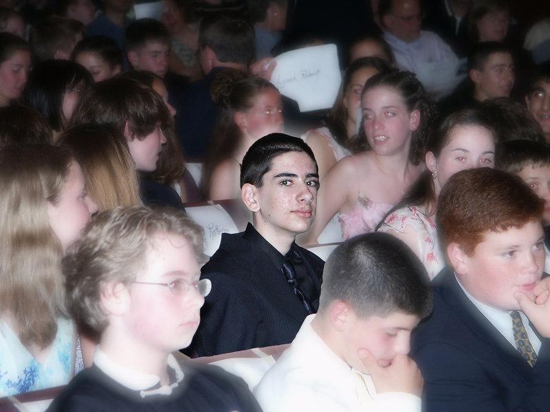 Ben during middle-school graduation   (Jun 19, 2003, 05:57pm)