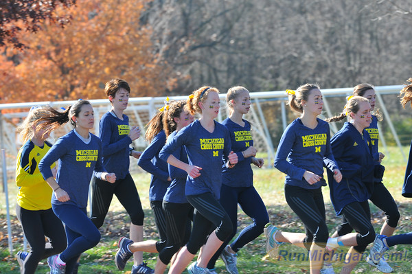 Miscellaneous-State of Michigan - 2012 NCAA D1 XC Championships