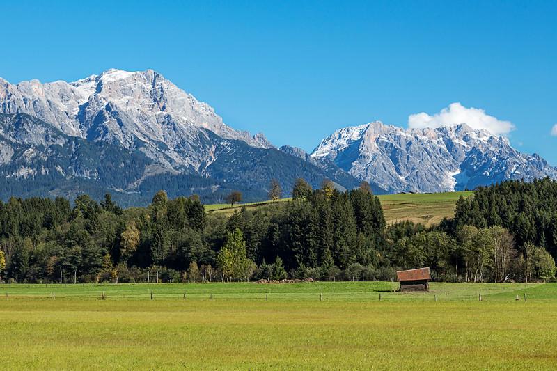 Alpine Pasture, Austrian Alps