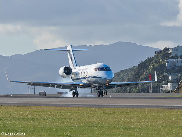 RAAF Bombardier CL604 Challenger at Wellington 2019