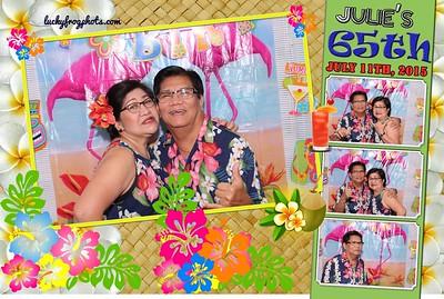 Julie's 65th Bday