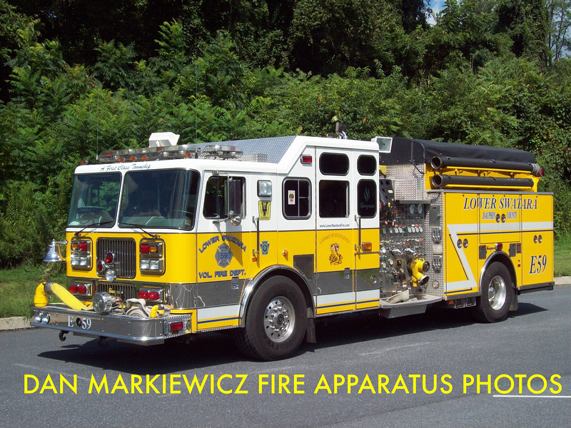 LOWER SWATARA FIRE DEPT. X-ENGINE 59 1998 SEAGRAVE PUMPER