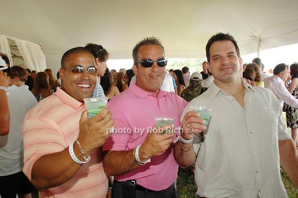 Eric Howard, Ricky Alessi and  John Mayo