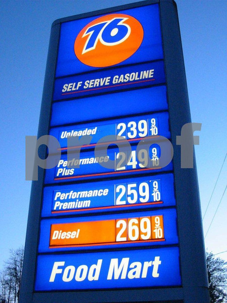 Price of gas on Apr. 7, 2005