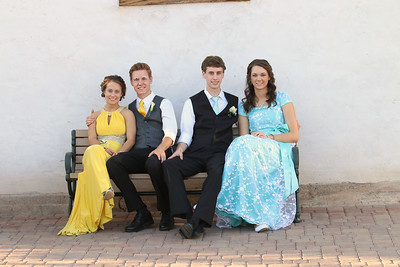 2014 Prom - Angela, Gibby, Kaylee, Jarrett