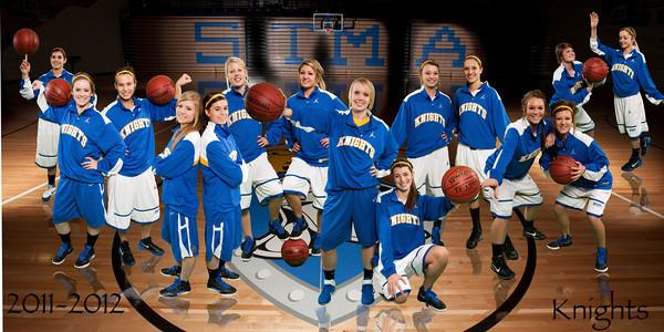 banner for Girls Basketball