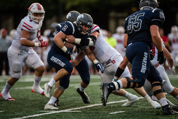 CWRU vs Grove City Football 9-21-19