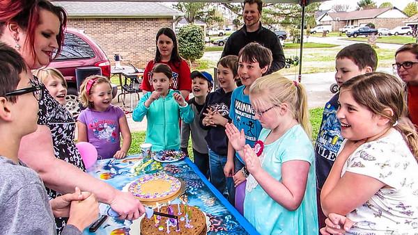 Chloe's 9th Birthday Party
