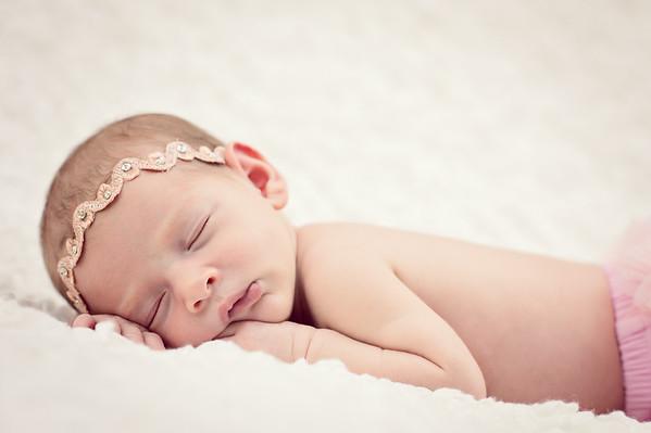 Rachel and Mike - Harper Newborn