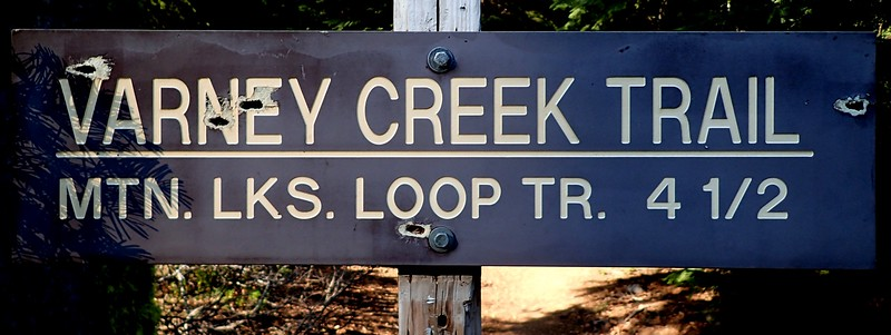 Varney Creek Mountain Lakes Wilderness Oregon