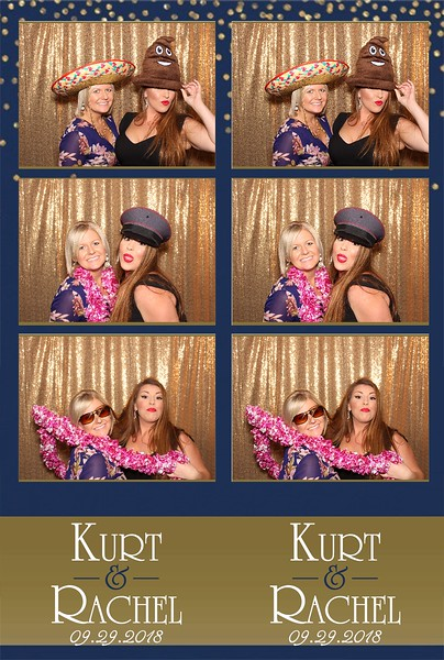Kurt & Rachel's Wedding (9/29/18)
