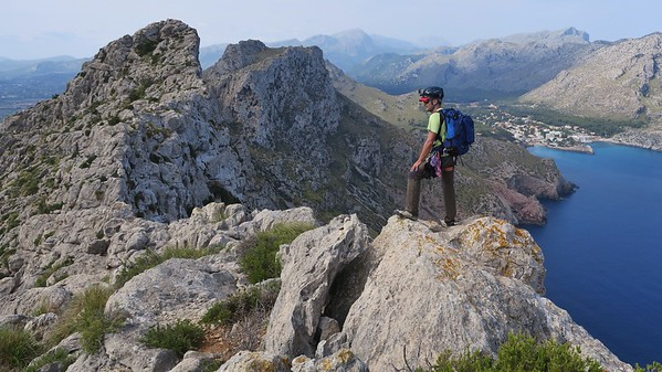 Cavall Bernat Ridge, Mallorca Sept 2017