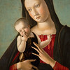 Virgin and Child, Early 1460s, Oil on Panel by Giovanni Bellini. Museum of Art, Philadelphia, Pennsylvania