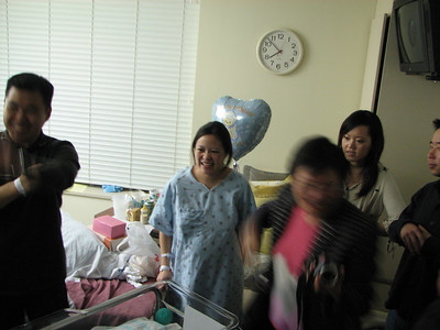 2007.03.23 Fri - Baby Joshua Huang @ Huntington Memorial Hospital
