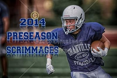 2014 Preseason Scrimmages